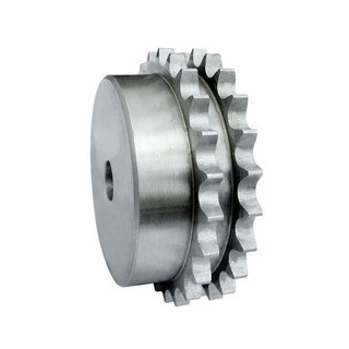 Taper Bore Double Simplex Sprocket