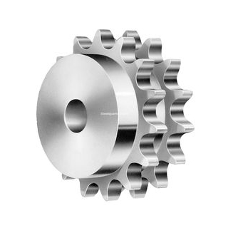 Pilot Bore Double Simplex Sprocket